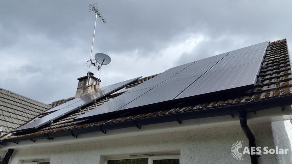 Solar PV for domestic property in Glasgow