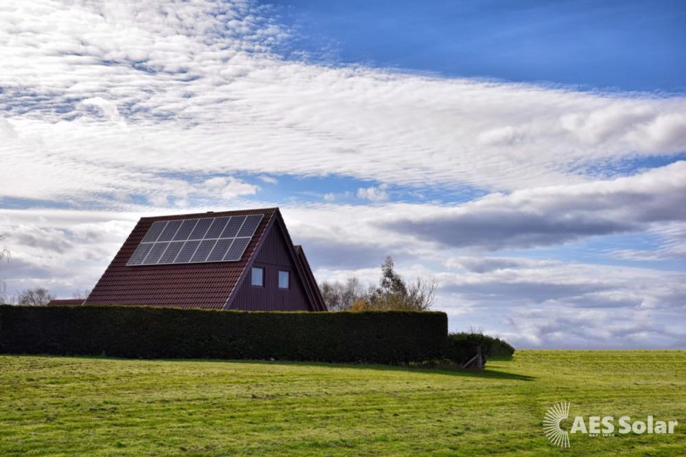Solar PV retrofit in Forres, Moray