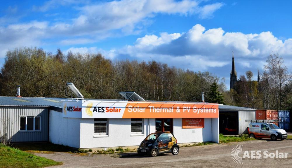 AES Solar HQ and manufacturing facility