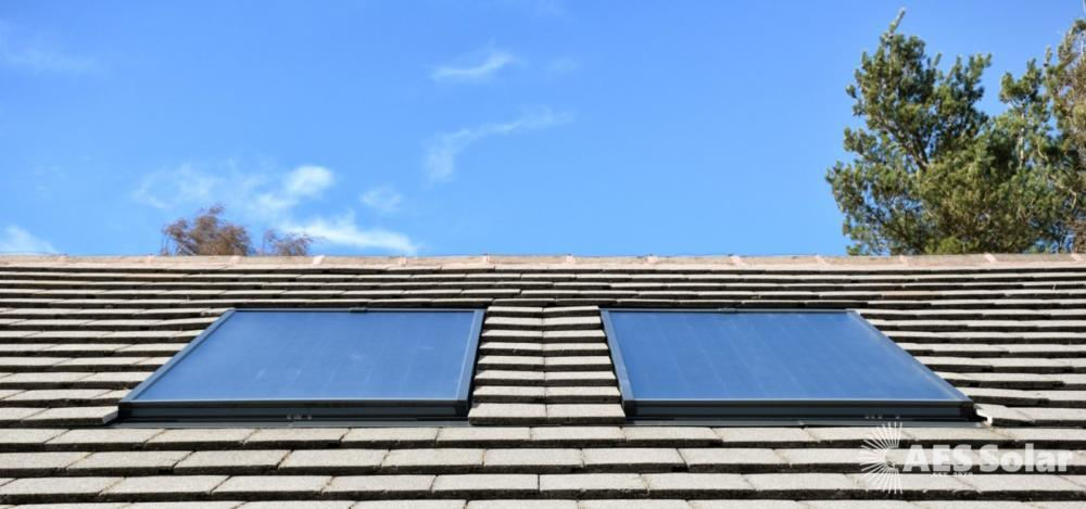 AES Supremacy solar thermal panels in Culloden, near Inverness