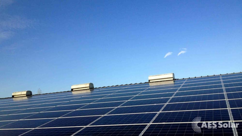 Solar PV at Benromach Distillery in Forres, Moray