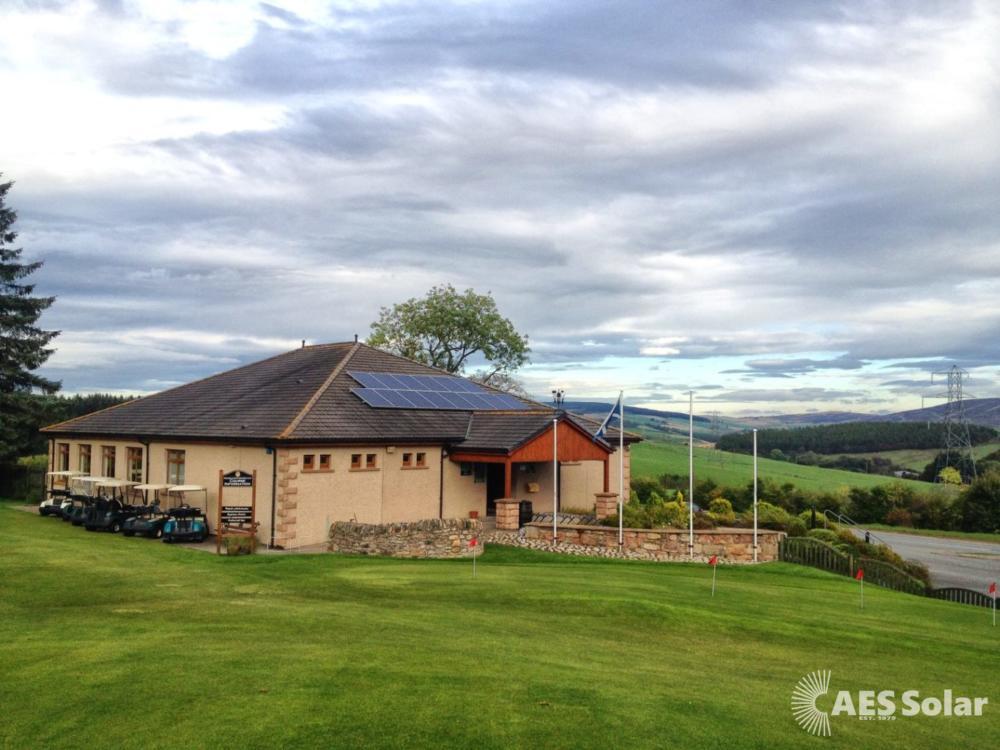 Solar PV on a golf club