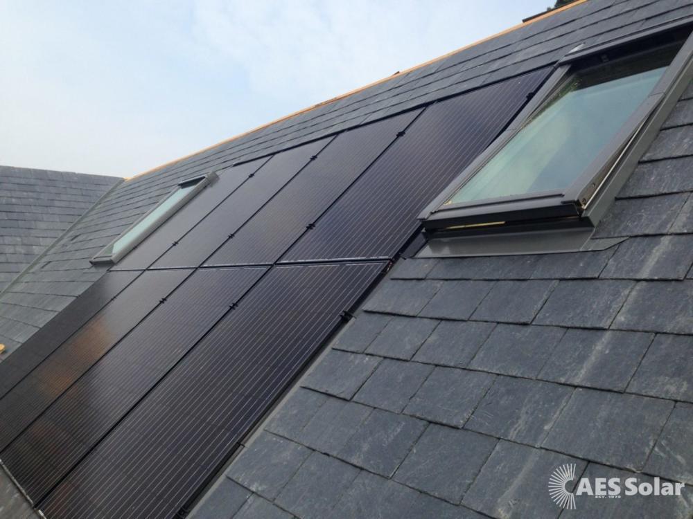 GSE roof integration for solar panels