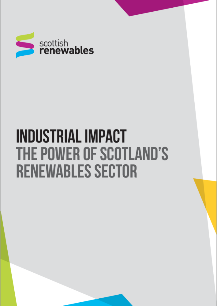 Industrial impact the power of Scotland's renewables sector