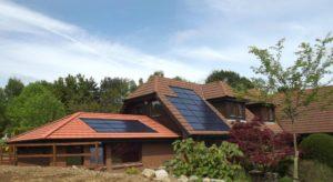 AES Solar installation in Aberdeenshire