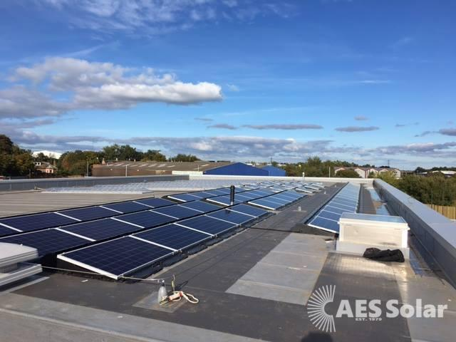Commercial solar PV in the Central Belt.