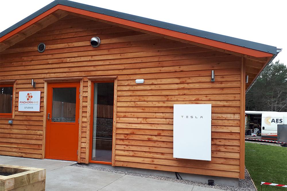 Powerwall 2 installed in Findhorn, Moray